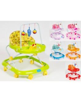 Ходунки детские с дугой для игрушек - bbp MMT-JS307