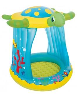 Надувной бассейн Bestway Черепаха с навесом (52219) - ves 52219