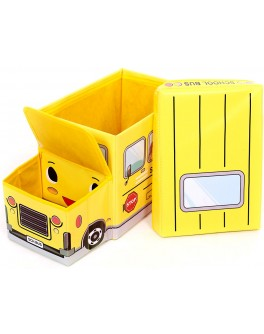 Пуф детский Автобус, 55х26х31 см - ves puf_avtobus