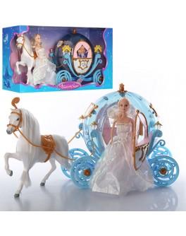 Карета Illusion State с куклой и лошадью (28903A) - mpl 28903A