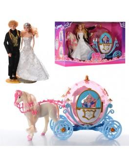 Карета с принцессой и принцем (28911 A) - mpl 28911 A