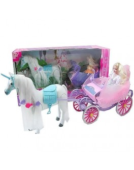 Кукла с каретой и лошадью Princess (38386) - mpl 38386
