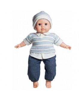 Кукла мягконабивная Ману (37001) 36 см без коробки Paola Reina - kklab 37001