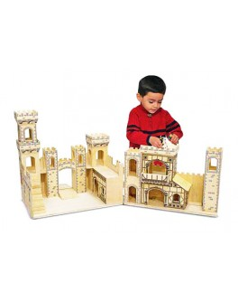 Деревянный рыцарский замок - MD 11329
