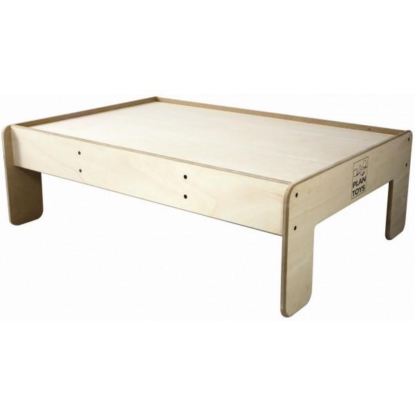 фото Деревянный Игровой стол 80?120 см Plan Toys (8247) - plant 8247
