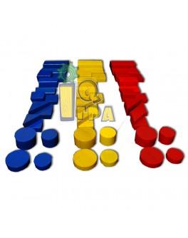 Блоки Дьенеша обучающая игра ТАТО - tato ПЗ-001