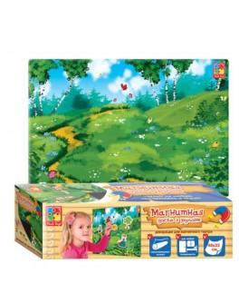 Магнитная доска 47х32  декорации для кукольного театра VT3602-04 Vladi Toys