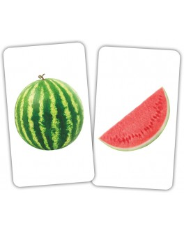 Карточки Домана Фрукт и долька Вундеркинд с пеленок
