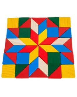 Мозаика деревянная Геометрия, ТАТО - tato МЗ-001