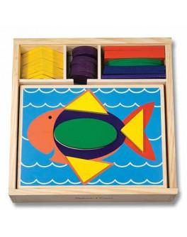 Мозаика Первая для малышей. Melissa & Doug Развивающая игрушка - MD 528
