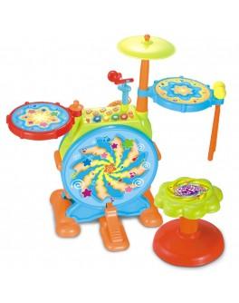 Барабанная установка детская Hola Toys 666 - AFK 666