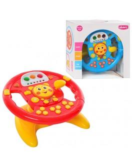 Детский автотренажер руль (91070)