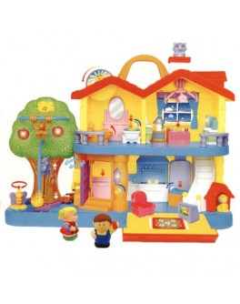 Загородный домик музыкальный Kiddieland preschool