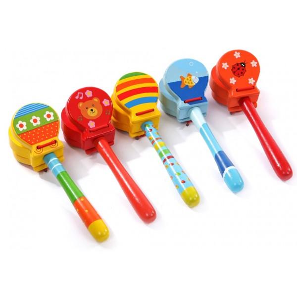 кастаньеты детские, Мир деревянных игрушек