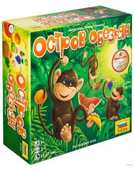 Настольная игра Остров обезьян (Monkeyland) - pi 8759