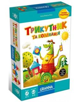 Настольная игра Granna Треугольник и компания (82470) - BVL 82470
