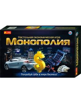 Экономическая настольная игра Монополия, Ranok Creative - RK 12119001Р