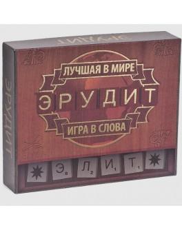 Игра в слова Эрудит-Элит деревянная Arial - arial 0190
