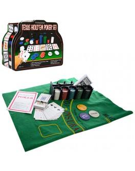 Набір для гри в покер 200 фішок THS-153