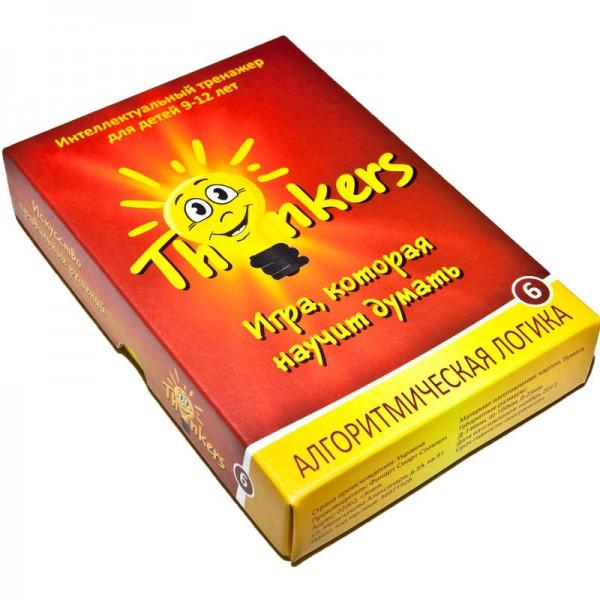 логическая игра для детей 9-12 лет Алгоритмическая логика Thinkers Th-0906