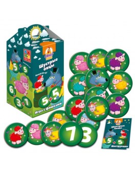 Настольная игра Vladi Toys Шустрые овцы. Хватай 10-ку! (VT8033-01)