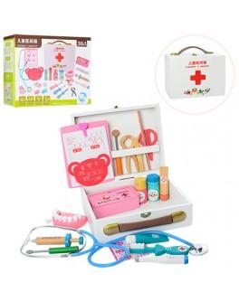 Деревянная игрушка Доктор стоматолог в чемодане (MD 1170)