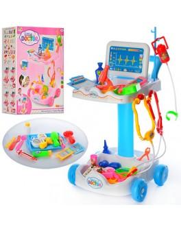 Набор доктора детский на тележке (606-1-5) - mpl 606-1-5