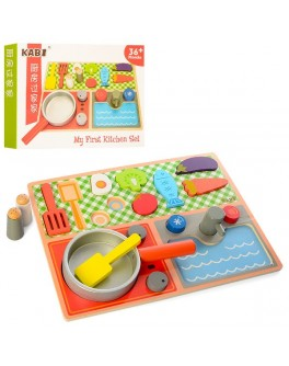 Деревянная игрушка Продукты (MD 1223) - mpl MD 1223