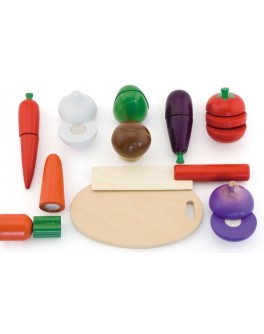 Игрушка деревянная Viga Toys Овощи (56291) - afk 56291