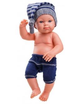 Кукла-пупс Paola Reina Мальчик в синем 32 см (05101) - kklab 05101