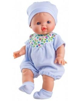 Пупс Paola Reina Альберт в голубом 34 см (04064) - kklab 04064