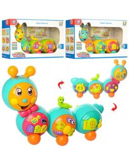 Музыкальная игрушка Гусеница (855-26A) - mpl 855-26A