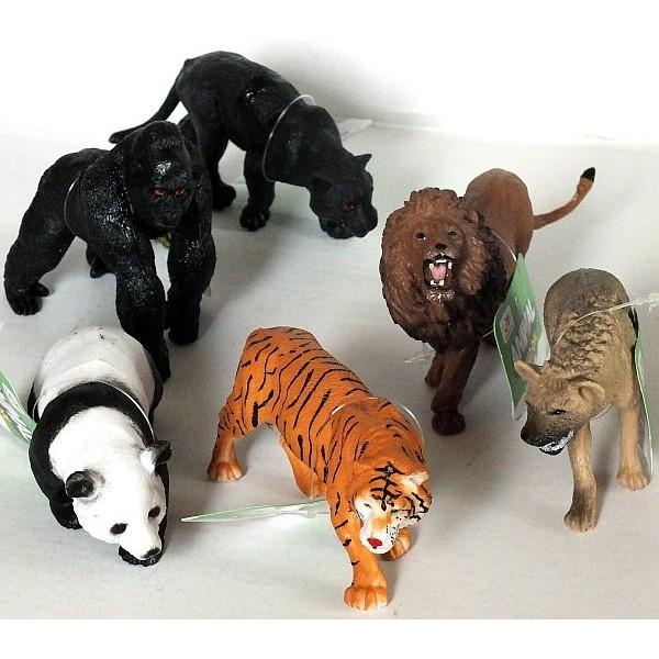 фигурки животных диких и домашних