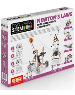 Конструктор Engino STEM - Законы Ньютона: инерция, движущая сила, энергия - kds stem07