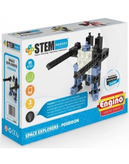 Конструктор Engino STEM HEROES: Исследование космоса: Посейдон - KDS SH21