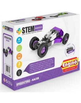 Конструктор Engino STEM HEROES: Спортивные автомобили: гоночный - KDS SH33
