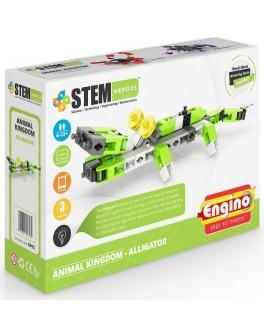 Конструктор Engino STEM HEROES: Царство животных: аллигатор - KDS SH13