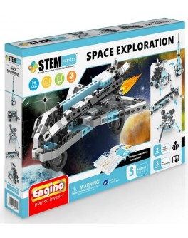 Конструктор Engino STEM HEROES 5 в 1 – Исследование космоса - KDS STH51