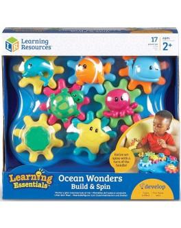 Развивающий набор для игры шестеренки Морские обитатели Learning Resources