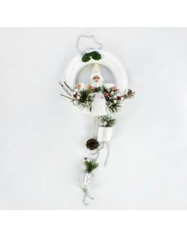 Декоративная новогодняя композиция с Дедом Морозом - igs 70062