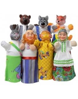Домашний кукольный театр Сказка Колобок