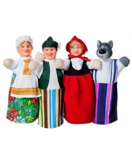 Домашний кукольный театр Сказка Красная шапочка - alb B069