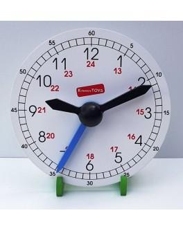Обучающие деревянные часы макет 180 мм