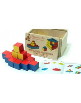 Деревянные кубики Никитина Уникуб Розумний Лис - roz 90047
