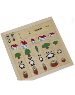 Деревянная игра Классификация. Сравни и подбери Lam Toys