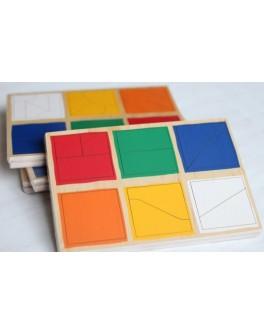 Сложи квадрат 1-й уровень. Методика Никитина Lam Toys - lam 1515-1