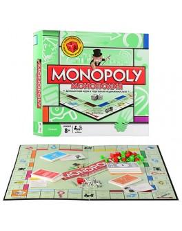 Настольная игра Монополия в зеленой коробке 6123