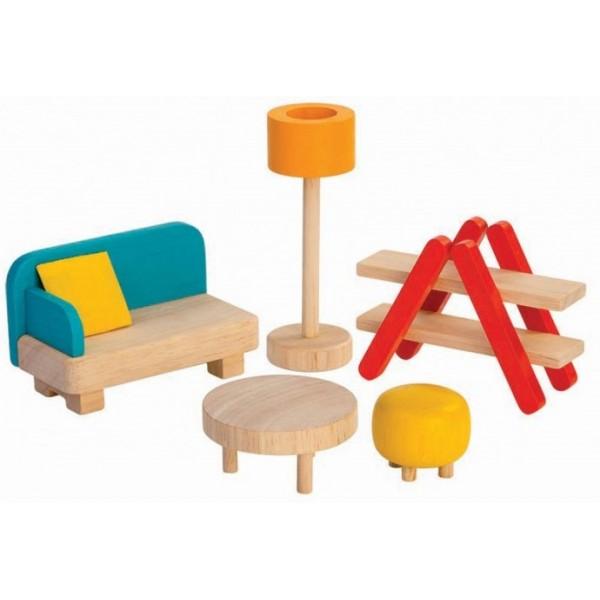 деревянная игрушка Plan Toys гостиная 7347