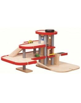 Деревянная игрушка Plan Toys Парковка-гараж (6271)