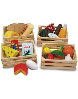 Игровой деревянный Набор продуктов Melissa & Doug - MD271